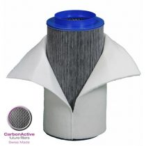 CarbonActive Homeline Filter Granulate, 500m³/h Ø 200mm