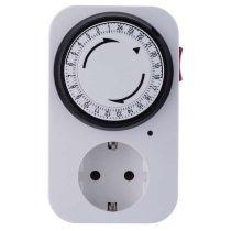 Cornwall ElectronicsMechanikus 24 órás időkapcsoló készülék